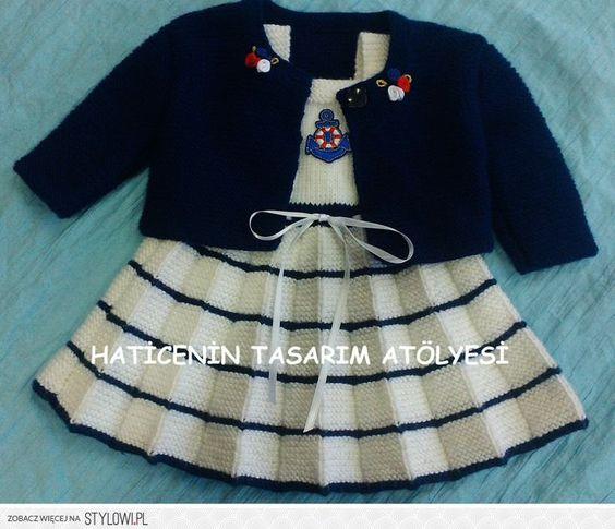 sukienka / sweterek / druty na Stylowi.pl: