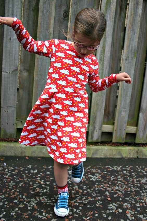 Here it is again. This might be my first sew for KCW...The Skater Dress sewing pattern -18m/2T, 3T/4T, 5Y/6Y, 7Y/8Y - PDF | Kitschy Coo