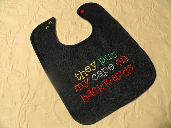 At home by the Baye: Some New Bibs Finished