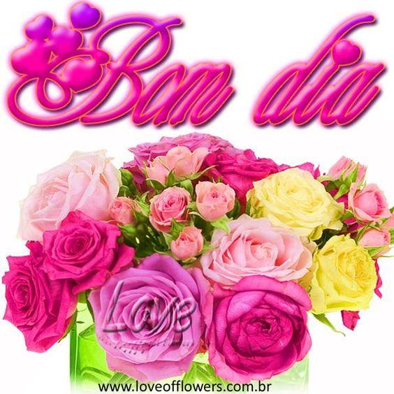 LOVE OF FLOWERS: Bom dia