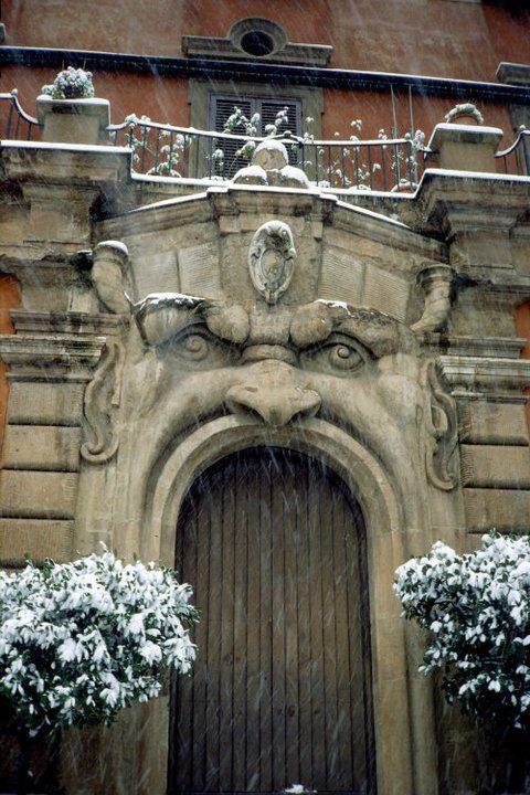 Roman doorway