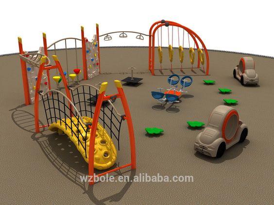 Outdoor children playground equipment made in Wenzhou