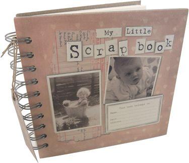 scrap book (libro de recuerdos)