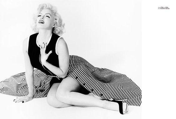 Twin of Marilyn Monroe