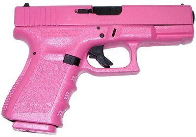 i want a pink gun!!