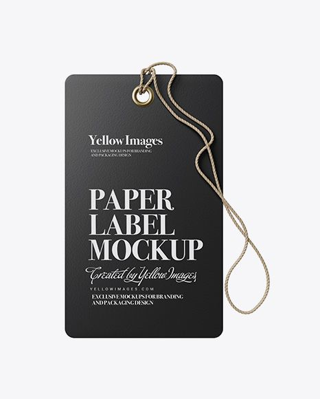 Download Paper Label With Rope Mockup In Object Mockups On Yellow Images Object Mockups Mockup Free Psd Free Psd Mockups Templates Mockup Psd Yellowimages Mockups