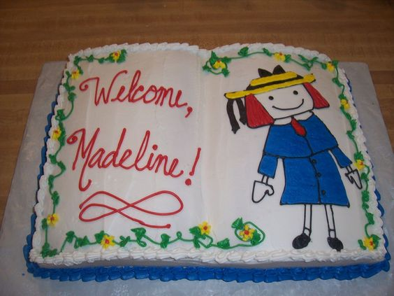 Madeline Cake — Birthday Cakes