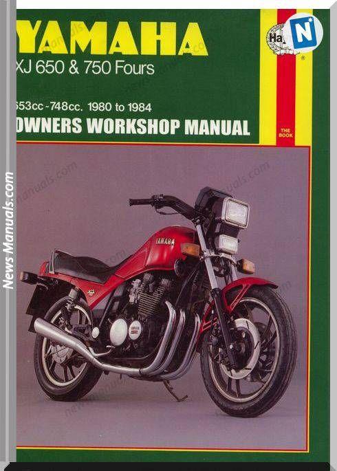 Yamaha Xj650 750 80 84 Service Manual Yamaha Repair Manuals Manual