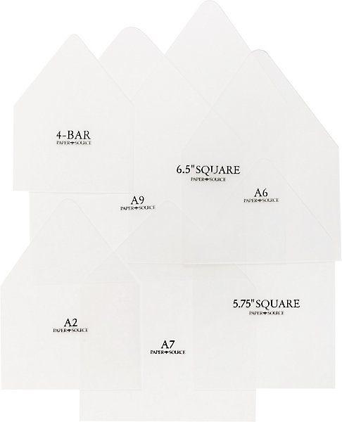 Envelope Liner Template Kit Diy Envelope Liners Envelope Liners