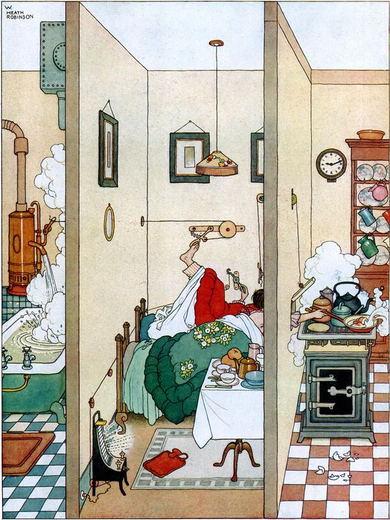 Heath Robinson: a museum fit for the cobbled-together contraption king
