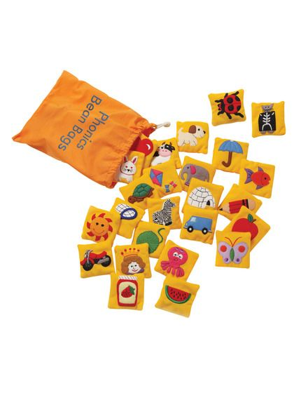 Phonics Beanbags Kids learning toy