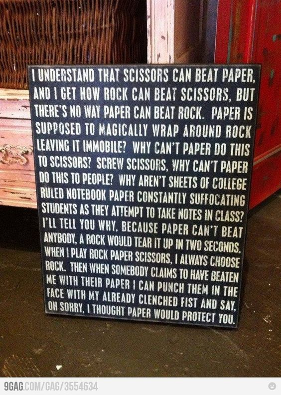 babe, you have to read this!  lol  is this why you always play rock?!