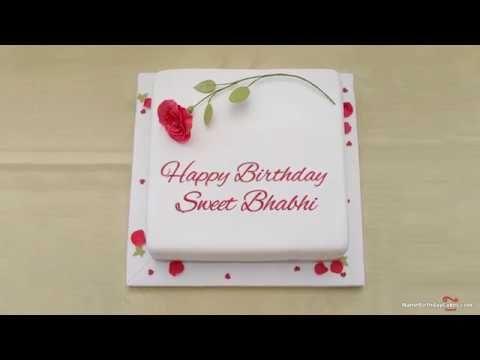 Birthday Wishes For Bhabhi Happy Birthday Bhabhi Happy Birthday Didi Birthday Card With Name Happy Birthday Love