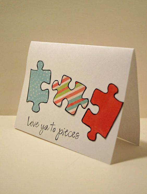 Mariamarkcreations homemade cards on etsy if you enjoy for Cute homemade valentines day cards