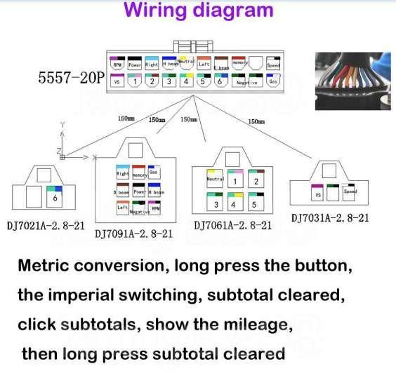 17 Universal Motorcycle Speedometer Wiring Diagram Motorcycle Diagram Wiringg Net Odometer Cylinder Metric Conversions