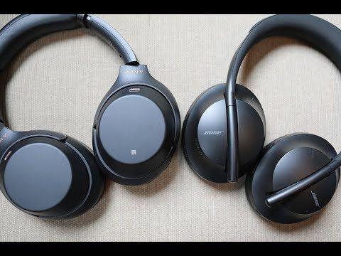 تحدي السماعات Bose Noise Cancelling 700 ضد Sony Wh 1000xm3 من الأفضل Bose Noise Cancelling Bluetooth Headphones Headphones