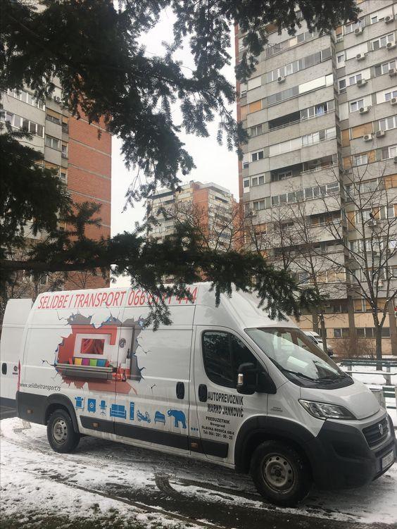 Selidbe nameštaja u visokim zgradama - Beograd