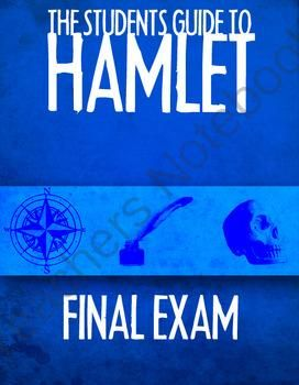 2 Different Hamlet Final Exams from Room_210 on TeachersNotebook.com -  (29 pages)  -  This consists of 2 Hamlet Final Exams. One is composed of 79 questions and the other is composed of 77 questions that test both analysis and comprehension.