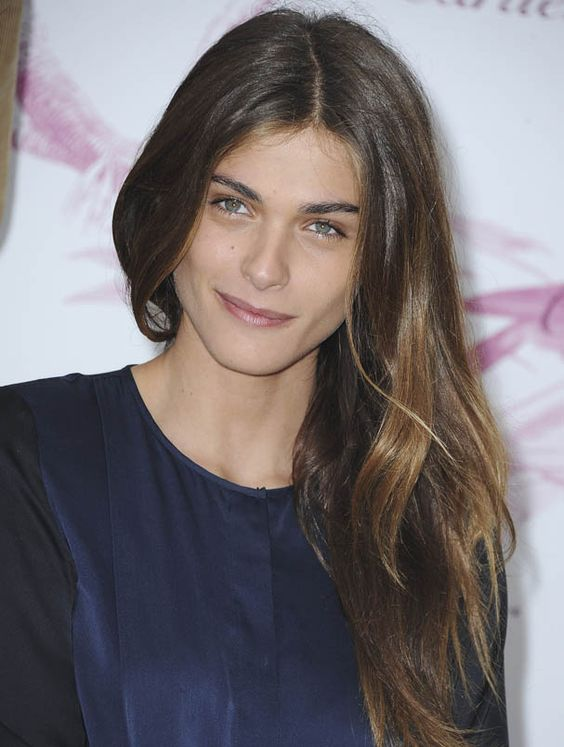 Elisa Sednaoui | Glamour. Hair colour and style