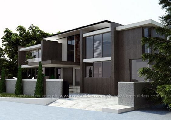 Hill view lot modern home plans budget friendly house for Budget home designs philippines