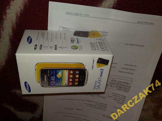Samsung GALAXY mini 2 GT-S6500D SUPER NISKA!!!! CENA!!! NATYCHMIASTOWA WYSYŁKA GRATIS!!!    NOWY!!! Samsung GALAXY mini2 GT-S6500D