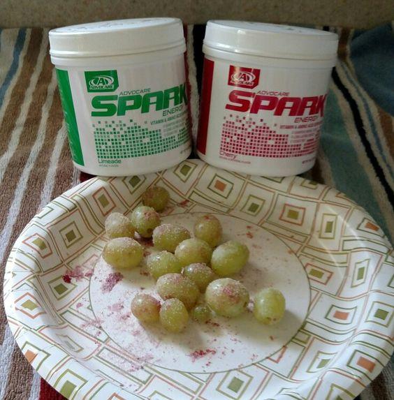 Sour patch spark candy grapes advocare.com/130313357