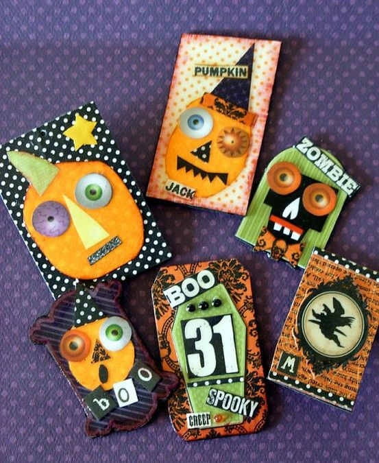 A whole bunch of cute Halloween pins