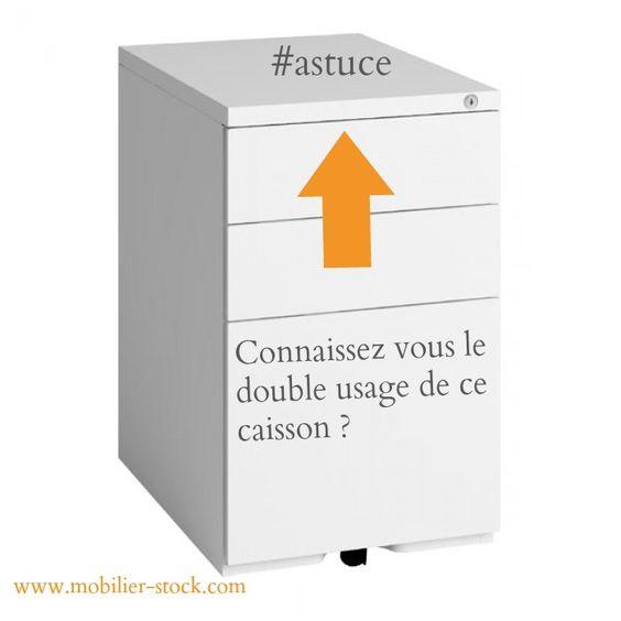 #Astuce : Connaissez vous le double emploi de ce caisson ?