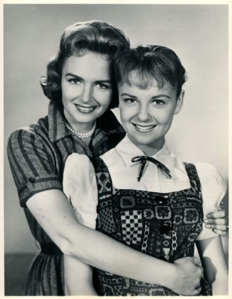 Donna Reed and Shelley Fabares ( The Donna Reed Show )