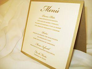 menu casamiento