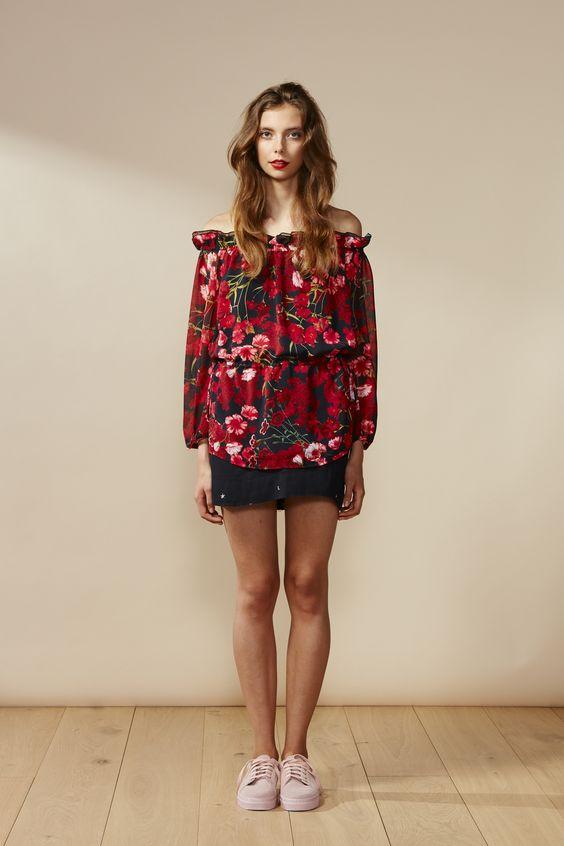RUBY Verse 1.0 Blouse & Frances Star Miniskirt
