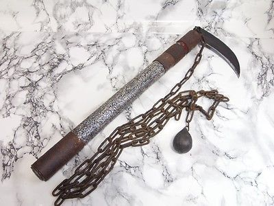 """one handed scythes are usually called """"sickles"""" there's ..."""