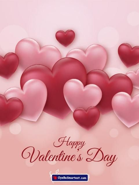 Happy Valentine S Day Card 2020 Wish Status Image For Friend In 2020 Happy Valentines Day Wishes Happy Valentines Day Images Happy Valentines Day