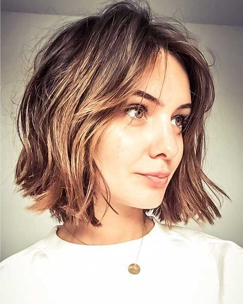 Best Short Haircuts With Curtain Bangs 2019 Fashionre Hair Styles Thick Hair Styles Short Hair Styles