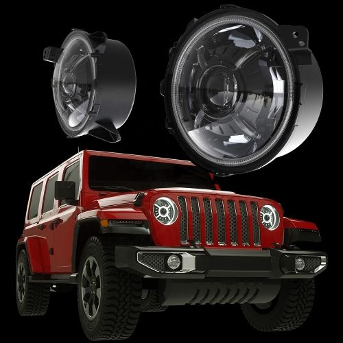 This Ms Gx9 Led Headlights Are Compatible For 2018 Jeep