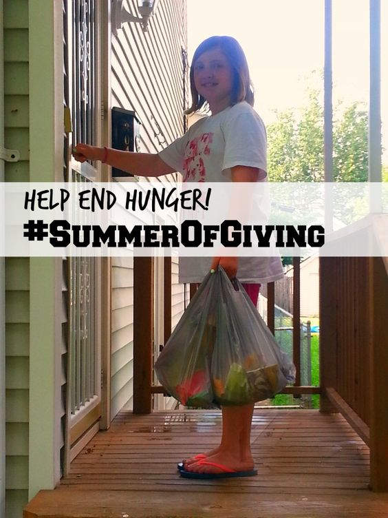 Help end Hunger with Tyson. Join the Fight! #SummerofGiving #ad