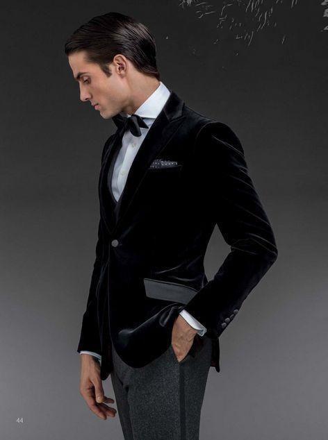 2015 New Tailored Velvet Groom Tuxedos Wedding Suits For Mens Suits Jacket+Pants Formal Suits For Men Men Suits Online From Helansheng, $73.3| Dhgate.Com