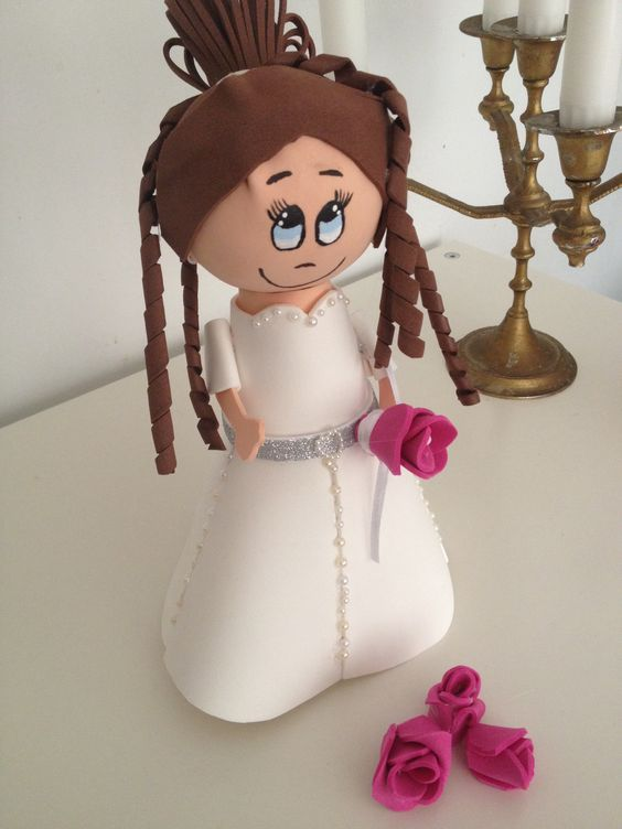 Fofucha Valentina #novia #boda #momentosdeensueño #regalos #detalles