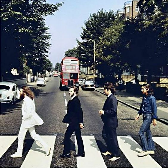 Rare Shots of the Abbey Road Cover Photo Session