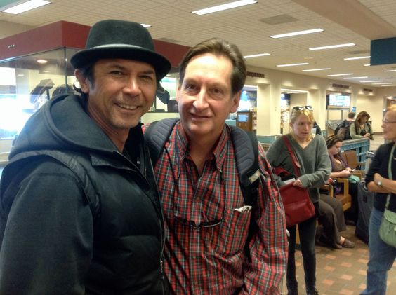 ,Look who was on the #50to1themovie flight to Albuquerque!! None other than…