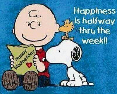 Snoopy ❤ Have a great Wednesday ☕☕☕
