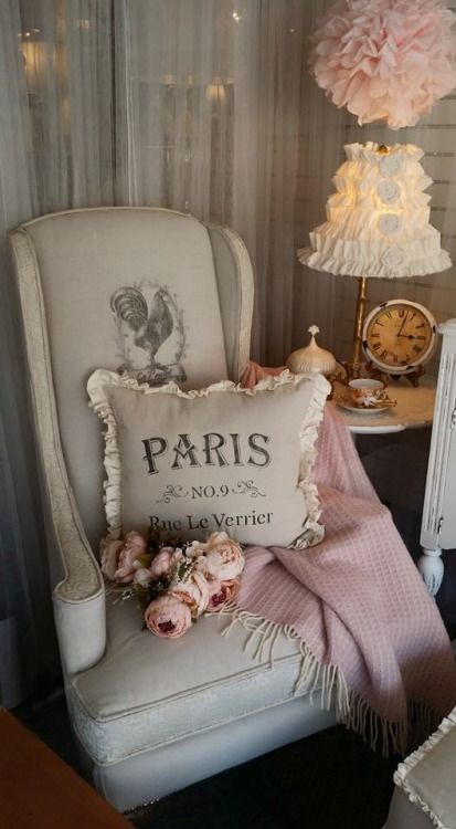 Paris chair… so shabby chic: