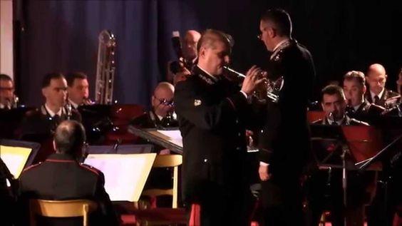 Santino Torre e sezione Clarinetti Banda Carabinieri - Concerto In Re Maggiore di G.P,Telemann