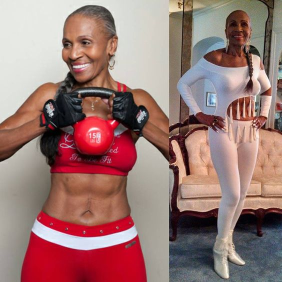 """""""Start your day inspired. Meet 79 year old Ernestine Shepherd, the oldest competitive body builder in the world. Goals! #goodmorning #morningmotivation…"""""""