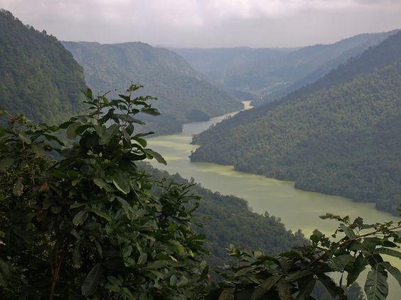 Sharavathi river @Shimoga, Karnataka, India.  #fun #enjoy #holiday #vacations #waterfalls #boating #karnataka #india #nature #southindia #rivers #greenery