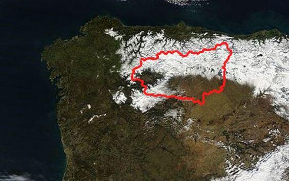 Un modelo matemático permite pronosticar grandes nevadas   ileon.com