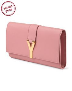 saint laurent the belle de jour patent leather clutch - Yves Saint Laurent at TJ Maxx on sale for $899 image of Made In ...