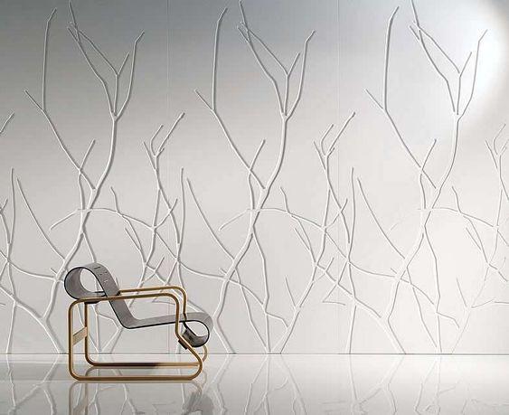 Pannelli decorativi per pareti - Pannello decorativo bianco