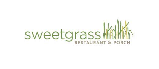 sweetgrass - restaurant logo design - by Seth Design Group