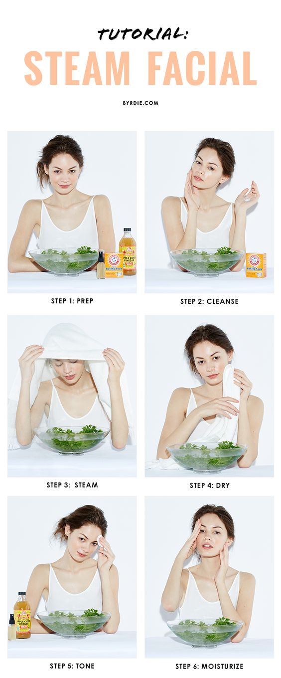 How to Do a Steam Facial: 13 Steps with Pictures - wiki